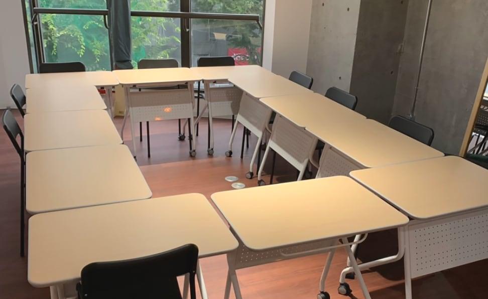 Aスペース 勉強会・セミナー向けの配置